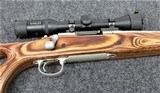 Remington Model 700 in caliber .223 Remington with Kahles 3x7x36 Scope