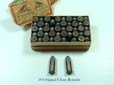 WINCHESTER REPEATING ARMS CO .38 CALIBER SHORT RIM FIRE RIFLE CARTRIDGES - 5 of 5