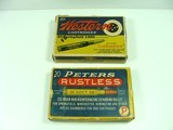 Western Cartridge Co. & Peters Cartridge Division Of Dupont c. mid-1920's 30-06 20-Round Boxes (2)