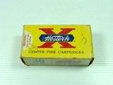 WESTERN CARTRIDGE CO. .38 LONG COLT FULL BOX OF 50.