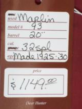 Marlin 1893 Carbine .32 Spl. - 18 of 18