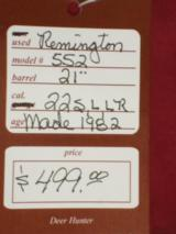 SOLD Remington 552 SOLD - 10 of 10