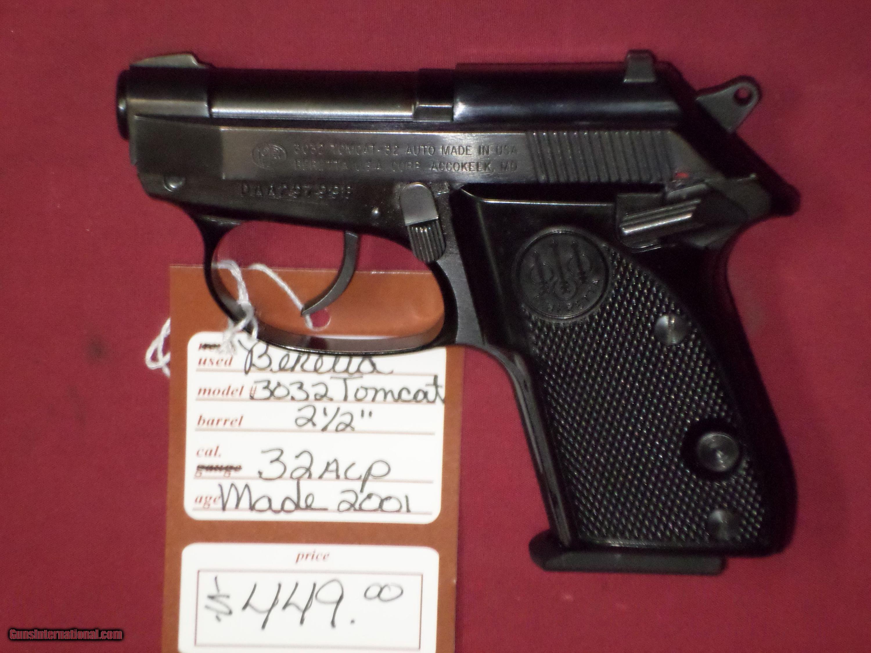 SOLD Beretta 3032 Tomcat SOLD