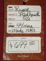 """Ruger Redhawk 5.5"""" - 4 of 4"""