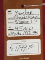 Kimber Classic Royal 1st series .45 ACP - 4 of 4