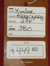 Kimber Micro Carry .380 - 4 of 4