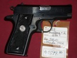 SOLD Colt Mustang +II .380 SOLD