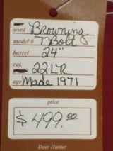 SOLD Browning T Bolt SOLD - 11 of 11