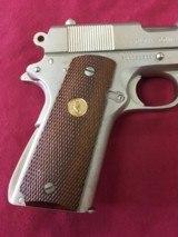 SOLD Colt 1911 Combat Commander Satin Nickel SOLD - 7 of 14