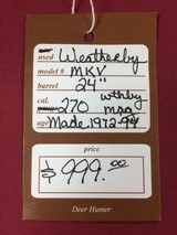 WEATHERBY MKV 270 WTHBY MAG - 14 of 14