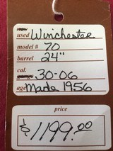 SOLD WINCHESTER 70 30-06 SOLD - 23 of 23