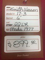 SOLD SMITH & WESSON 17-3 SOLD - 13 of 13