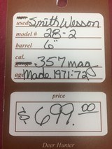 SOLD SMITH & WESSON 28-2 SOLD - 13 of 13