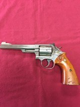 SOLD SMITH & WESSON 19-3 NICKEL SOLD - 1 of 11