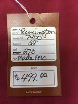 SOLD REMINGTON 7400 270 SOLD - 17 of 17