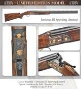 "Caesar Guerini Invictus III Sporting Limited (Limited Edition) 12ga/32"" w/adj comb - 9 of 9"