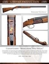 """Caesar Guerini Woodlander Dove Special 20ga/28"""" Limited Edition - 5 of 5"""