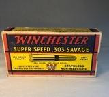 Winchester Super Speed 303 Savage