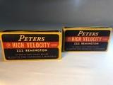 Peters 222 Remington