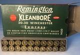Remington Kleanbore 30-30 Winchester Express