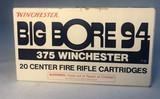 Winchester Big Bore 94, 375 caliber