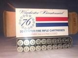 Winchester Bicentennial, 30-30 silvertip