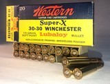 Western Winchester Super X, 30-30, - 1 of 9