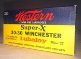 Western Winchester Super X, 30-30, - 2 of 9