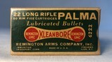 Remington Kleanbore 22 Long PALMA