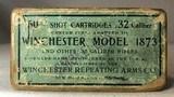 Winchester Model 1873 32 caliber sealed box