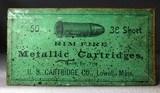 US Cartridge Co 38 short Metallic Cartridges sealed box