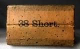 US Cartridge Co 38 short Metallic Cartridges sealed box - 2 of 7