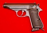 Walther Model PP 7.65mm Made in W. Germany