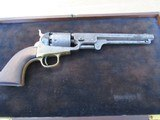Scare & Rare Colt triple cased group of 3 Colt Percussion Revolvers with accoutrements - 1851 Colt Navy, 1849 Colt Pocket & 1855 Colt Root in case - 9 of 15