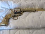 Extremely Rare, Scarce 1 of 3 Gold Washed Original Colt Single Action Army Revolver made 1875 in Excellent Condition - 2 of 15