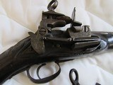 Pair Rare Italian made miguelet lock pistols - Not perfectly matched, Circa 1750 18th Century - 6 of 14