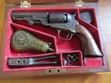 Outstanding all Original Antique Pre-Civil War Era cased Colt .36 cal Manhattan Navy 1851 Black Powder Percussion Revolver