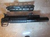 Colt AR15 M203 Gernade Type 37MM Flare, Smoke, Gas Underbarrel Launcher Cobray - Bushmaster AR15