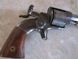 Allen & Wheelock Side Hammer Model 32 Rimfire Revolver - Desirable Collector Low Serial Number #26 - - 13 of 15