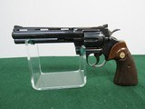 Early 1964 Colt Python - Serial#33731 - Blue - 6 Inch Barrel - About 98% blue