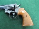 Nice Early 70's Colt Python Revolver - .357 Magnum - Circa 1973 - SN#E58473 - Blue with 6 Inch Barrel - 6 of 15