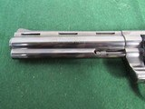 Nice Early 70's Colt Python Revolver - .357 Magnum - Circa 1973 - SN#E58473 - Blue with 6 Inch Barrel - 7 of 15