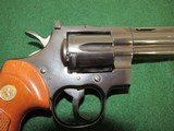 Nice Early 70's Colt Python Revolver - .357 Magnum - Circa 1973 - SN#E58473 - Blue with 6 Inch Barrel - 2 of 15
