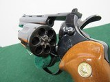 Nice Early 70's Colt Python Revolver - .357 Magnum - Circa 1973 - SN#E58473 - Blue with 6 Inch Barrel - 14 of 15