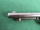 Nice Engraved Colt Style Single Action Army Revolver - .45LC -19th Century - Belgium Origin? - 4 of 15