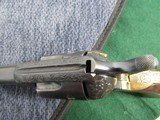 Nice Engraved Colt Style Single Action Army Revolver - .45LC -19th Century - Belgium Origin? - 14 of 15
