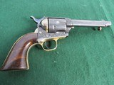 Nice Engraved Colt Style Single Action Army Revolver - .45LC -19th Century - Belgium Origin? - 5 of 15