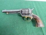 Nice Engraved Colt Style Single Action Army Revolver - .45LC -19th Century - Belgium Origin?
