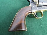 Nice Engraved Colt Style Single Action Army Revolver - .45LC -19th Century - Belgium Origin? - 7 of 15