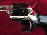 "Colt Peacemaker Buntline ""2nd Amendment Commemorative""22LR - 1977 in Presentation Case Beautiful""Nickel & Blue"" - 3 of 9"